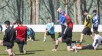 El acuerdo al que han llegado el Burgos CF y el CD Burgos Promesas ha permitido a Manix Mandiola y a sus jugadores empezar a entrenar en la Ciudad Deportiva de Castañares.
