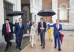 El ministro Íñigo de La Serna visitó Burgos para presentar el trazado del AVE a Vitoria.