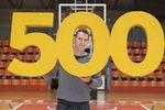 Jorge García cumple 500 partidos de baloncesto en Burgos
