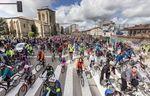 El día de la bici partió otro año más de la Real y Antigua de Gamonal