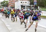 Roller Burgos reúne a 300 participantes en la patinada a favor de la Asociación Autismo Burgos.