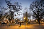 La plaza Castilla se ha convertido en una zona fantasmal