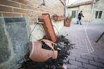 Numerosos desperfectos en el barrio de Villimar tras las concurridas verbenas