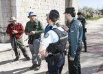 Gendarmes franceses y Guardia Civil colaborarán en la asistencia a peregrinos en el camino de Santiago