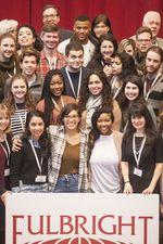 Los alumnos de las becas US Fullbright fueron recibidos por el consejero de educación  en el aula Magna de la Universidad de Burgos
