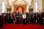 El Báculo de Oro de San Lesmes se le concedió a Pedro Ballvé por su decidida apuesta por reflotar en Burgos la fábrica de Campofrío