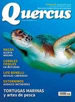 Tortugas marinas y artes de pesca, en la revista Quercus
