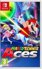 Prepara tu swing en Mario Tennis Aces
