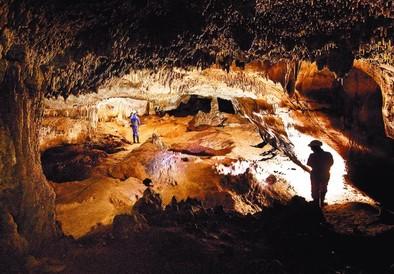 La Galería del Silo es uno de los sitios más espectaculares en el recorrido hasta llegar a la Sima de los Huesos. DB/Alberto Rodrigo