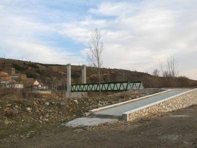La nueva pasarela peatonal tendrá 34 metros de largo y 2,55 de ancho.  Sandra Macho