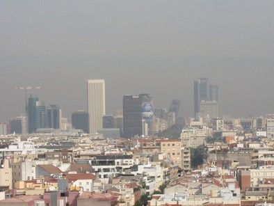 Contaminación Madrid Europa Press