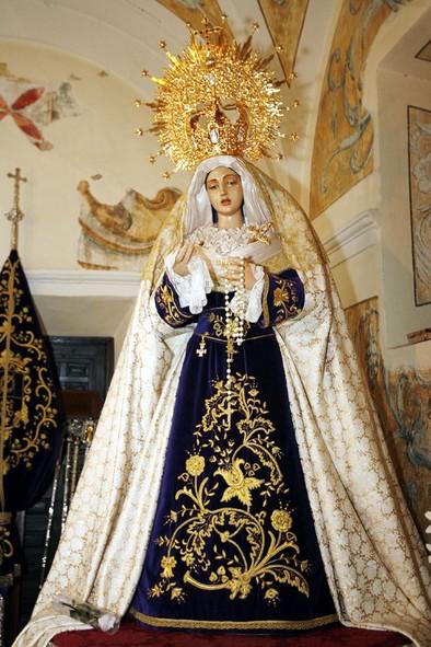 Robo de la joyas de la Virgen del Perdón en la iglesia de la Merced de Ciudad Real /Fotos Rueda Villaverde