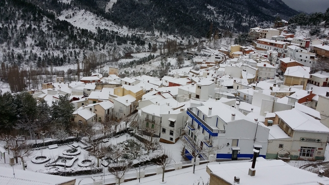 La nieve en la provincia