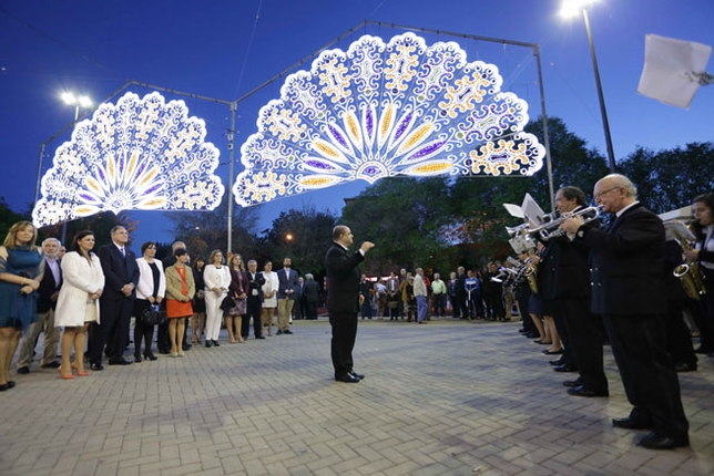 Inaguración de la Feria de Mayo de Puertollano y pregón
