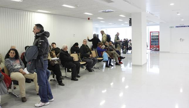 Primer día en las nuevas Urgencias del Hospital Clínico