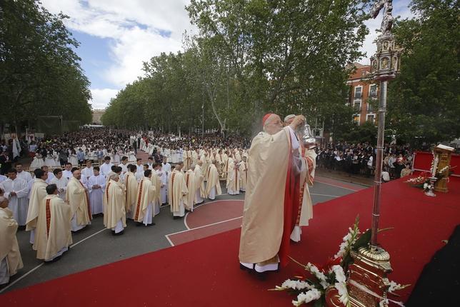 Eucarístía del Corpus Christi y el Día de la Caridad