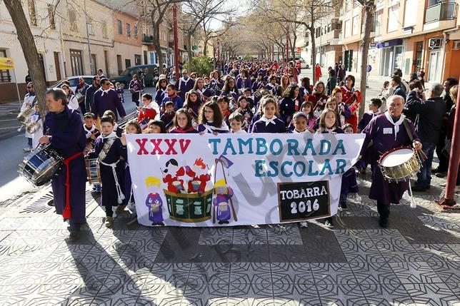 Tamborada escolar de Tobarra