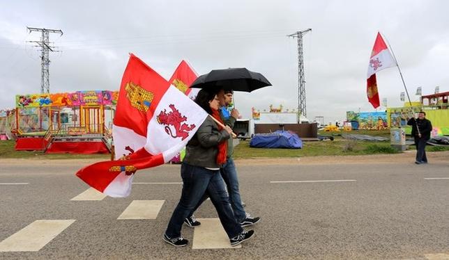 Celebración del Día de Castilla y León en Villalar