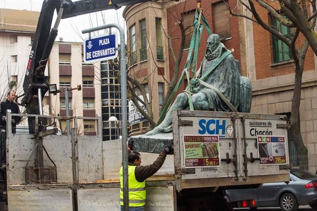 Cervantes abandona su Plaza