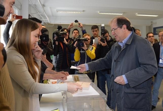 Herrera anima a todos sus paisanos a que vayan a votar porque