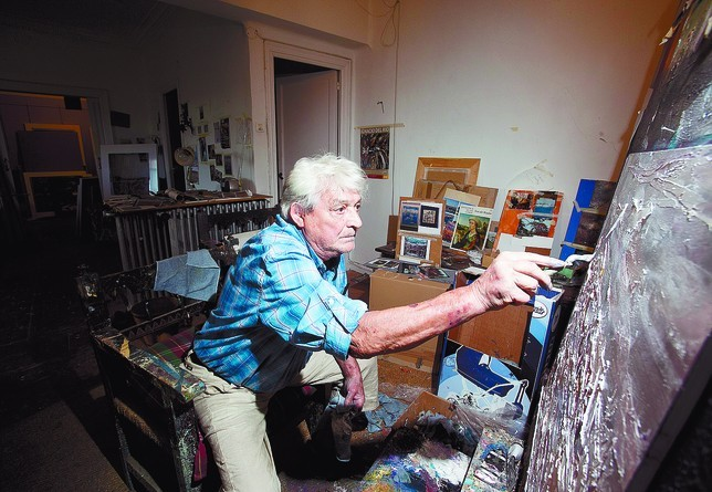 Muere a los 79 años Ignacio del Río, el 'enfant terrible' del arte burgalés