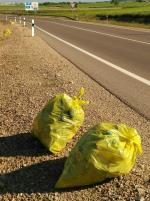 Suciedad cunetas carreteras