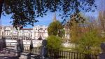 Sin moverse del sitio se pueden ver estas dos imágenes de Burgos. Deberíamos tener un poquito mas de cuidado y obligar a los dueños de ese solar a adecentarlo, por lo menos.
