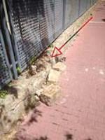 Otra pared que se cae....