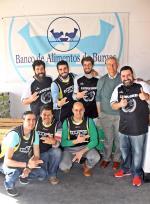 Donación de alimentos del CD Triple Gancho