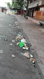 Suciedad en el Torreon