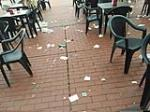 Terrazas en Burgos, ¿O basureros?