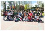 El pasado sabado 30 de Abril un grupo de 45  personas de la Parroquia de San Julián de Burgos, disfrutaron de un esplendido día de sol y calor en el Parque de Atracciones de Madrid pudiendo montarse repetidas veces en todas las atracciones www.parroquiasanjulian.es