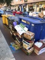 Sin limpieza en las calles de Avila