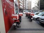 Telepizza abusando de la paciencia de los viandantes