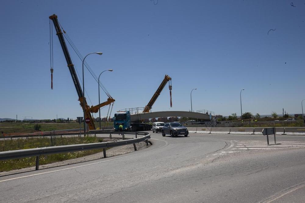 Construcción de una pasarela peatonal para unir San Cristóbal y Segovia
