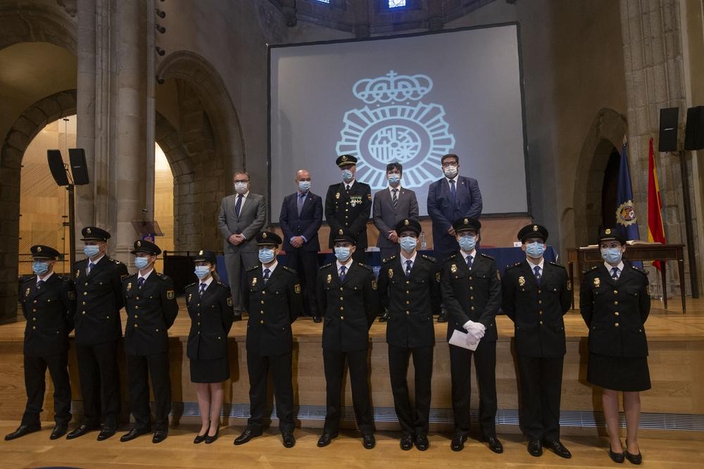 Acto de jura de cargo de policías