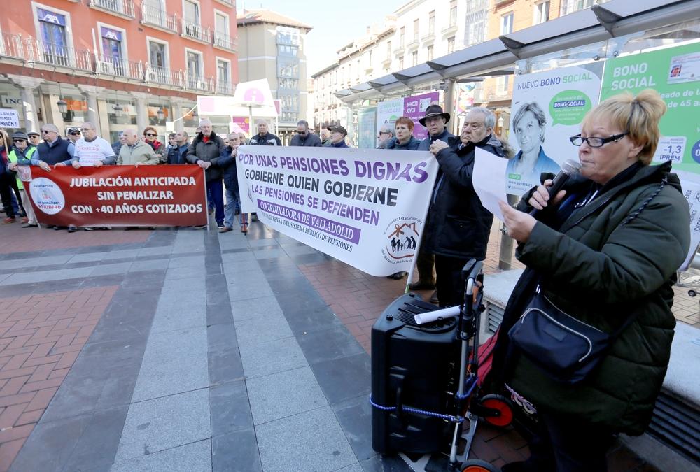 Concentración en defensa de las pensiones públicas
