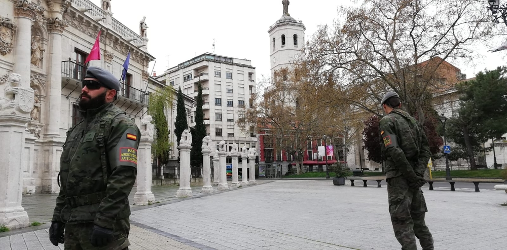 Estado de alarma en Valladolid