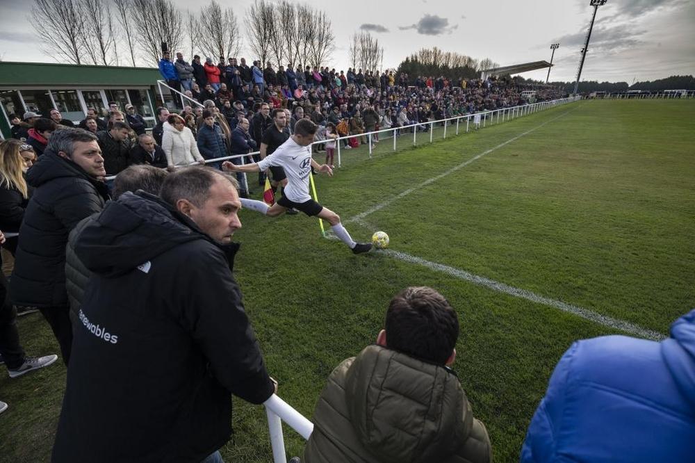 El Burgos-Real Madrid de juveniles abarrota Pallafría