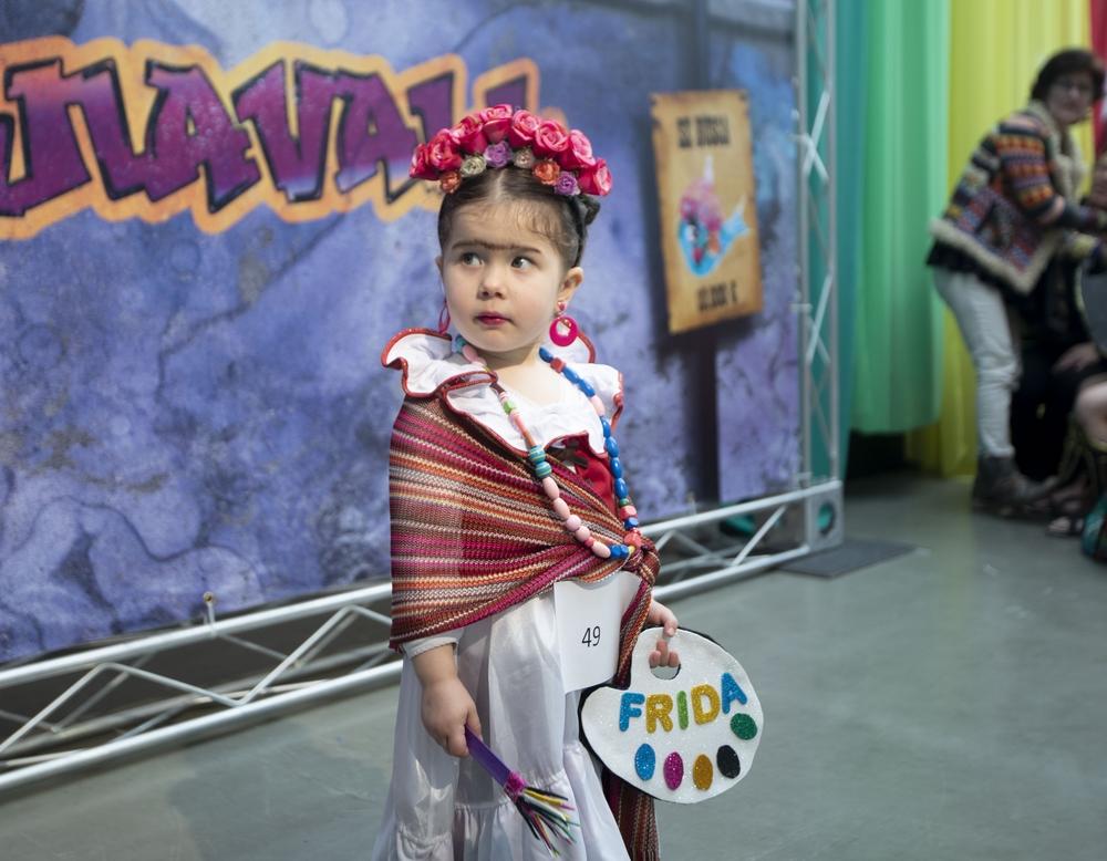 Concurso infantil de disfraces en el LAVA