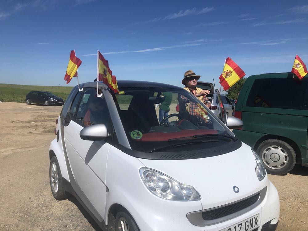 Caravana de protesta de Vox contra el Gobierno