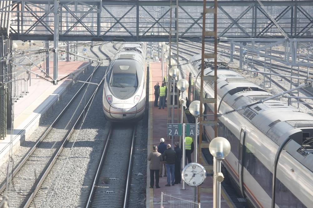 Un tren arrolla a una persona en la estación de Valladolid