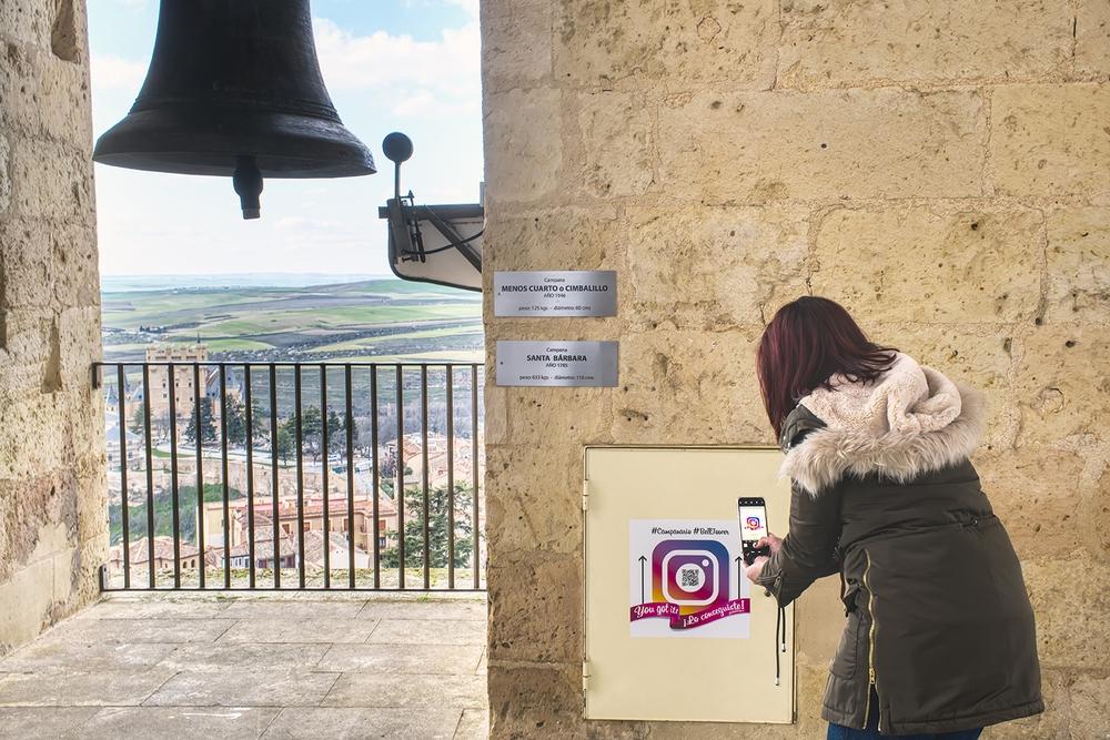 Tour de instagram en la Catedral de Segovia