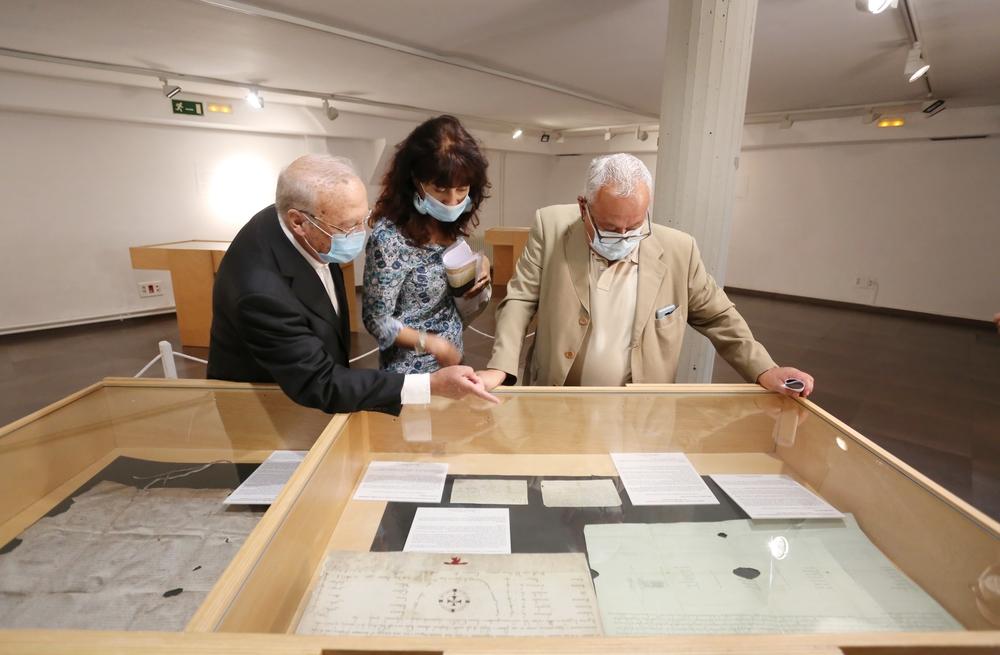 Inauguración de la exposición 'Los orígenes del español II. De Valpuesta a Cardeña'