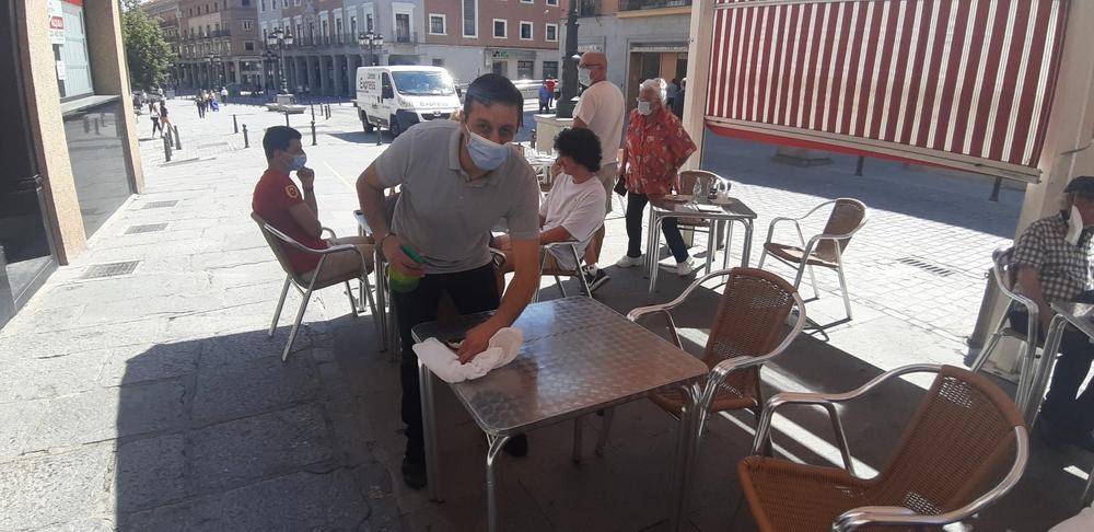Fase 1 en Segovia: Abren las primeras terrazas