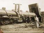 Septiembre de 1891 - Dos trenes chocan en Quintanilleja