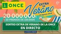 Un cupón de la ONCE, premiado con 100.000 en Burgos