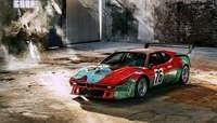 El BMW M1 Art Car de Warhol cumple 40 años de fascinación
