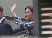 La reina recorre ya las instalaciones del Creer