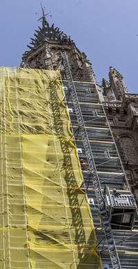 Arrancan oficialmente las obras de la torre de la Catedral
